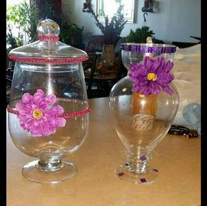 2 large jar